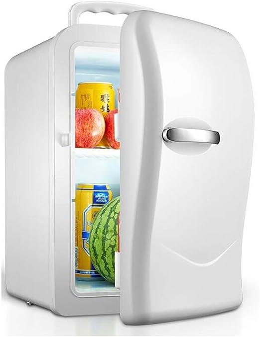 Feifei Mini Nevera 2 en 1 Mini refrigerador pequeño 20L para el ...