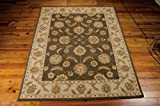 Nourison India House (IH89) Mushroom Rectangle Area Rug, 3-Feet 6-Inches by 5-Feet 6-Inches (3'6'' x 5'6'')