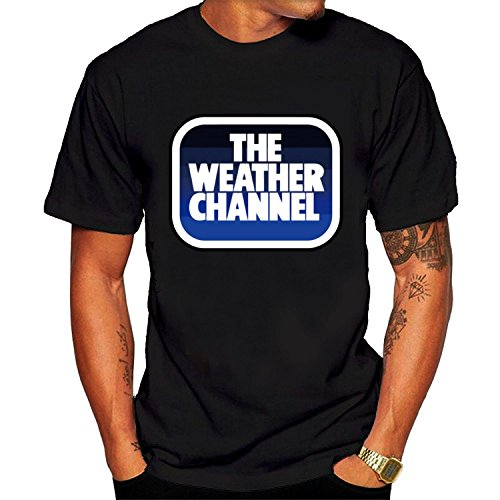 Men's Weather TWC Logo Tee shirt XXL Black cool
