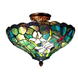 Dale Tiffany Savannah Flush-Mount Light