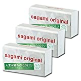 JAPAN SAGANI ORIGINAL 002 12pcs Regular-size condom 3boxes +Fighting Spirit lotion 12 ml
