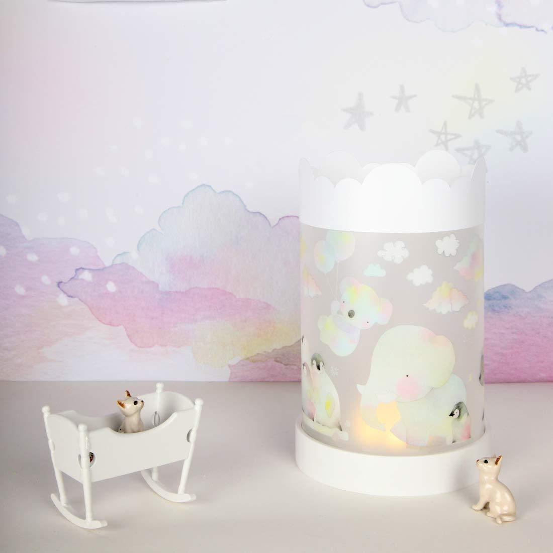 a LED Teeny /& Tiny Luce Notturna Camera Neonati e Bambini in Silicone Morbido 200 g Nuvola Accensione Contatto Touch