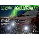 2011-2014 Dodge Grand Caravan Fog Lamp Driving Light Kit Xenon