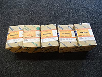 Lot of 5 Komatsu 307-15-12720 Forklift Oil Filter