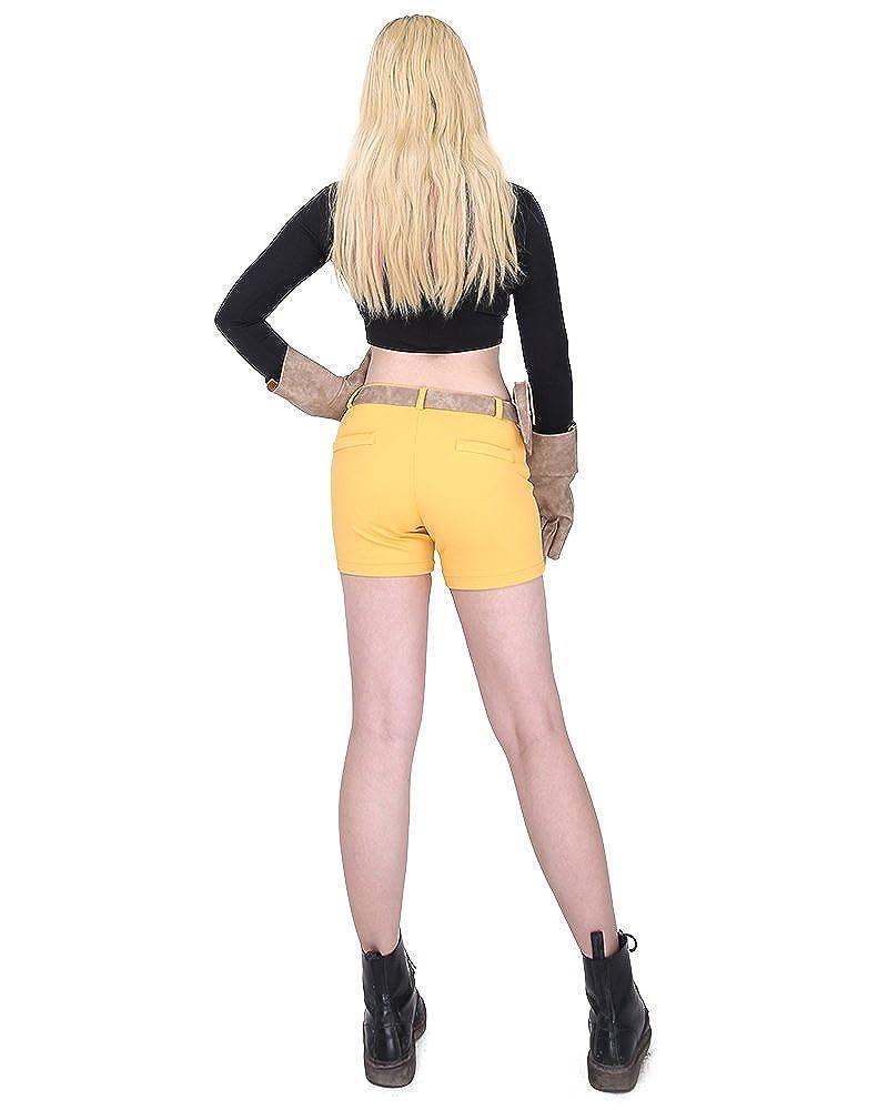 Amazon.com: miccostumes Mujer Teen Titans Terra disfraz de ...