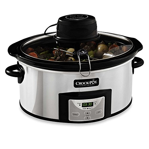 Crock-Pot 6-Quart Digital Slow Cooker with iStir Automatic Stirring System