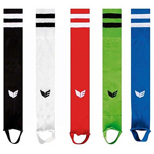 Erima Stutzen Stegstutzen Streifenstutzen für Kinder Junioren Erwachsene verschiedene Farben, Grösse:33 - 36;Farben:Schwarz
