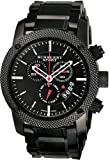 Sport Men's Chronograph Watch Color: Black / Grey
