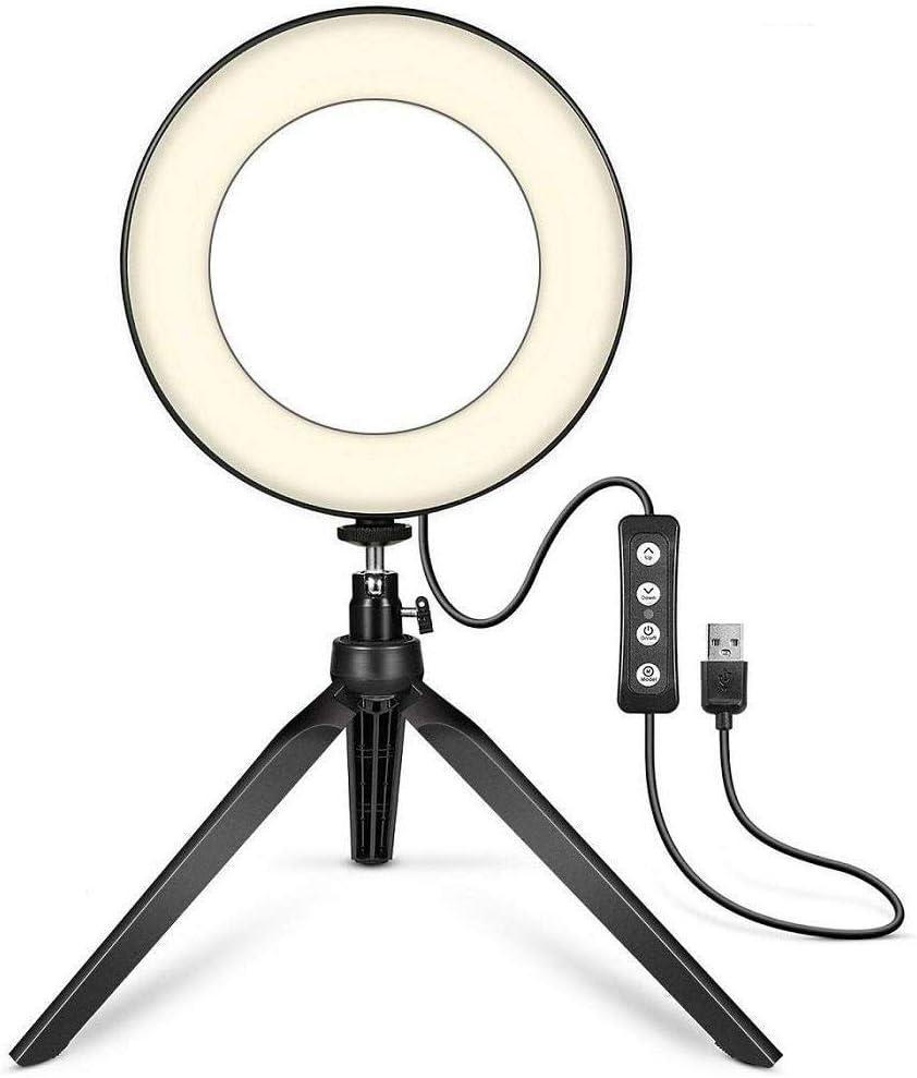 Mavere Broadcast Live Photography Fill Light LED Camera Phone Flash Dimmable Light On-Camera Video Lights