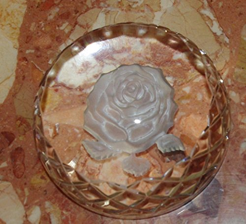 Waterford Rose Paper Weight (Paperweight Rose Waterford)