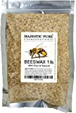 Burts Beeswax Eye Cream Majestic Pure Beeswax Pellets, Natural Yellow, 1 lb