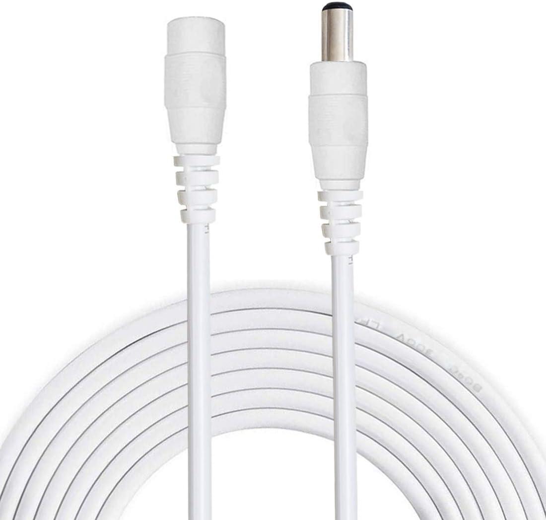 10x 5mm LED Con Cavo 25cm 12 VOLT DC//LED finito cablato 12 V Cable Wired