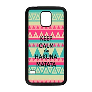 The Lion King Hakuna Matata Hard Snap Phone Case Cover for samsung galaxy S5 I9600 case LST297185