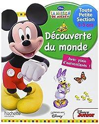 Mickey Découverte du monde Très Petite Section