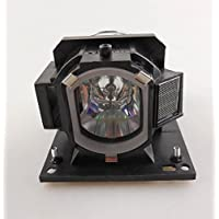 QueenYii Compatible Lamp for HITACHI CP-A222WN Projector Lamp with Housing