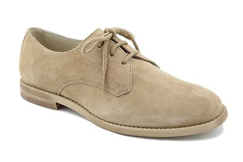 Oca Loca 5548, Zapatos de Cordones Derby para Niños, Beige (Taupe), 35 EU