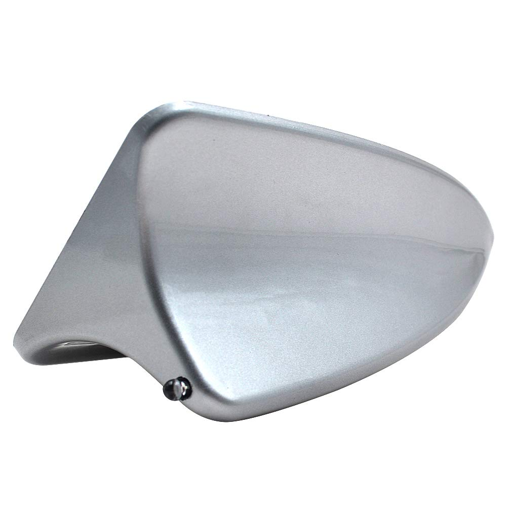 Silver Universal Car Roof Mounted Shark Fin Shaped Antenna Decor TAITIAN Shark Fin Antenna Without FM//AM Connection Cable Antenna Auto SUV Truck Van