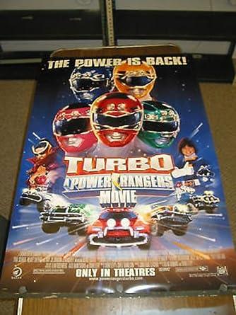 TURBO-A POWER RANGERS MOVIE / ORIG. U.S. ONE SHEET MOVIE POSTER