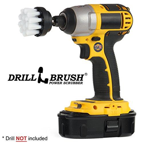 Small Diameter Household Scrub Brush Attachment for Cordless Electric Drill