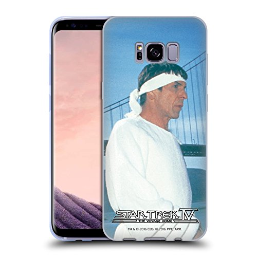 Official Star Trek Vulcan Robe Headband Spock The Voyage Home Tos Soft Gel Case For Samsung Galaxy S8    S8 Plus