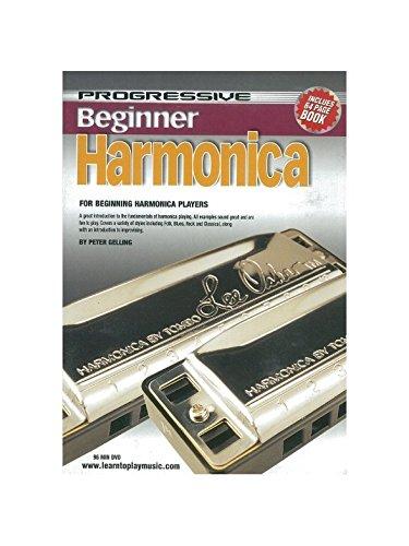Progressive Harmonica (BEGINNER HARMONICA: DVD WITH 72 PAGE BOOKLET)
