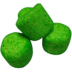 Sugared Marshmallows Green 1 Pounds 50 Pieces