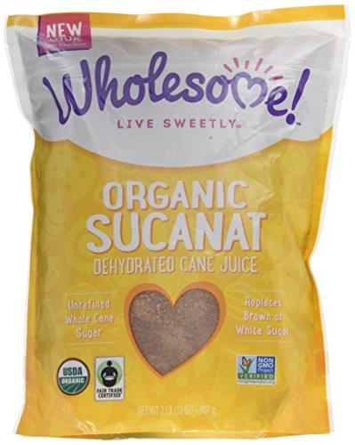 Price comparison product image Wholesome Sweeteners Organic Sucanat,  32 oz. (Pack of 12)