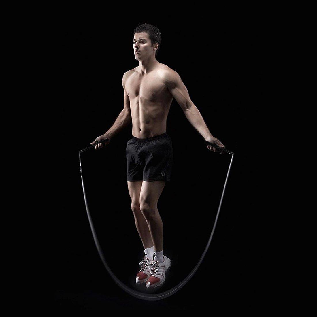 Speed Springseil, EveShine High-Performance Stahl Fitness Lager ...