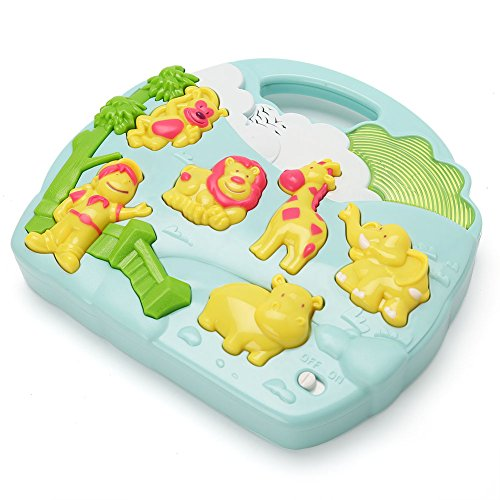LotFancy Baby Musical Toys with Zoo Animal Sounds for Newborns, Infant Early Educational Developmental Baby Rattle Toys for Kids, Gifts for Baby Thanksgiving Day, Christams Day