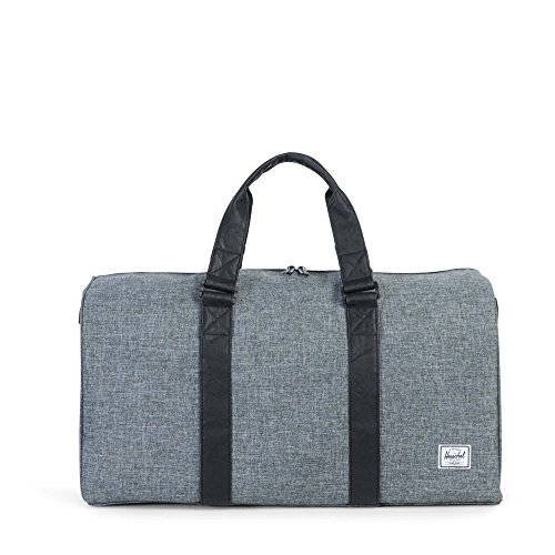 herschel-supply-co-ravine-duffle-bag-raven-crosshatch-black-synthetic-leather