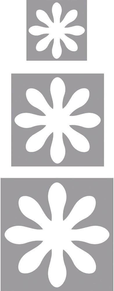 geeignet f/ür Papier//Karton bis zu 200g//m/² /ø 3,81 cm /ø 1,6 cm Rayher Hobby 69103000 Motivstanzer Set Blumen /ø 2,54 cm
