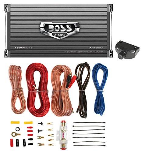 BOSS AUDIO AR1600.4 1600W 4 Channel Car Amplifier AR16004+Re