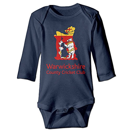 Price comparison product image Baboy Counties Cricket Warwickshir For 6-24 Months Boys&Girls Romper Playsuit 18 Months Navy