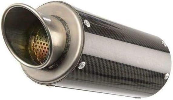 Hotbodies Racing MGP Growler Slip-On Exhaust Carbon Fiber With Rolled Tip 15-16 SUZUKI GSX-S750
