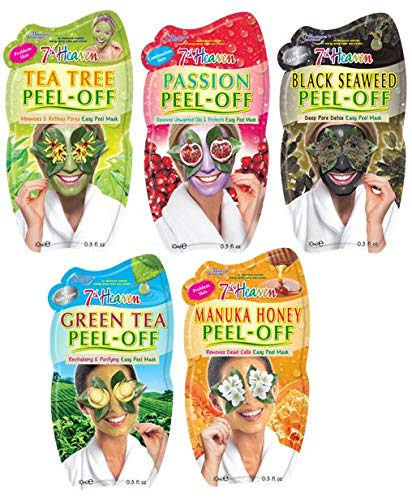 7th Heaven Pamper Peel Off Face Mask Pack Montagne Jeunesse GS-B112-A1