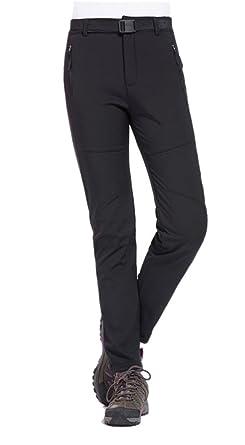 3a8a2956ce7 Geval Women s Outdoor Windproof Waterproof Softshell Fleece Snow Pants (XS