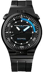 Porsche Design Performance Diver Automatic Black PVD Titanium Mens Watch Calendar 6780.45.43.1218