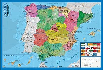 Grupo Erik Editores Lamina Educativa Mapa España: Amazon.es ...