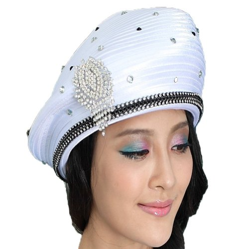 Women Church Hat Satin Hat...