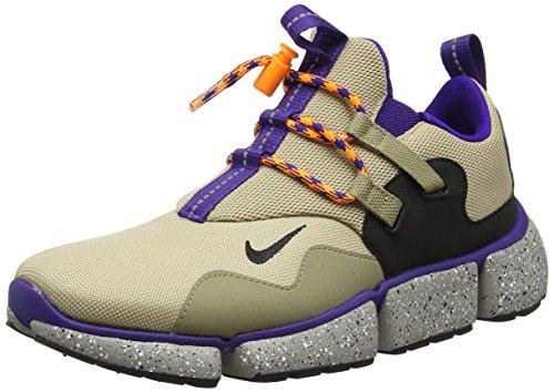 Nike Men Pocketknife DM, Linen/Black-Khaki-Court Purple, 8 M US