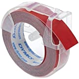 DYMO 3d gaufrage Vinyl Tape Boxed Red 524702 label-making Tape – label-making Tapes (Red, 3 m, 9 mm)
