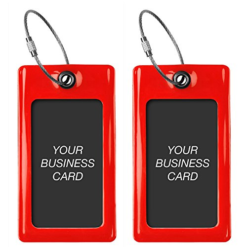 Luggage Tags TUFFTAAG, Business Card Holder, Suitcase Labels, Travel Accessories by ProudGuy (Image #10)