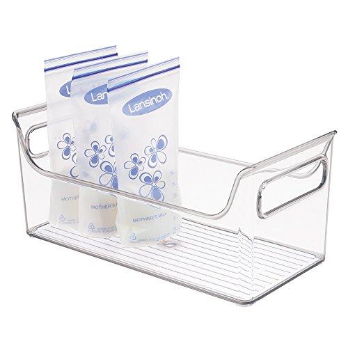 mDesign Organizer Handles Breastmilk Storage