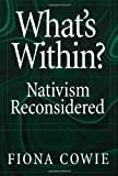 What's Within?, Fiona Cowie, 0195159780