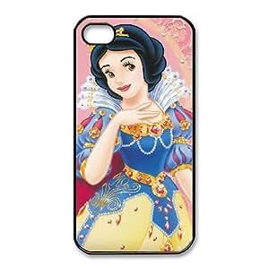 iphone4 4s Black phone case Beautifully Disney Heroines Snow White Sneeuwwitje DVA2682230