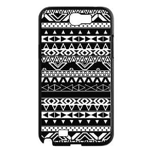 C-EUR Diy Phone Case Aztec Tribal Pattern Hard Case For Samsung Galaxy Note 2 N7100