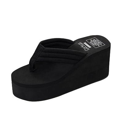Damen Sandalen Ronamick Frauen Sommer Slipsole Plattform Schuhe Sandalen Slipper Beach Schuhe Sandal Keilabsatz...