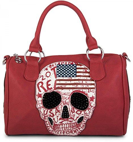 Stylebreaker, Sac Bowling Femme Rouge (rouge)