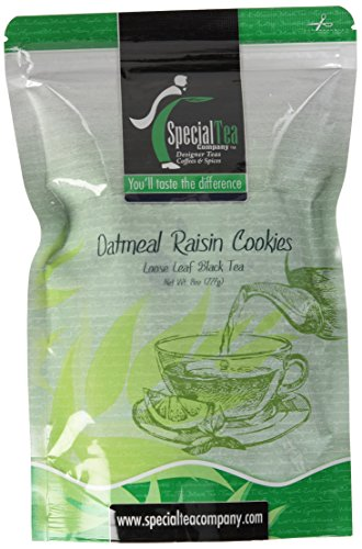 Used, Special Tea Company Oatmeal Raisin Cookies Loose Leaf for sale  Delivered anywhere in Canada