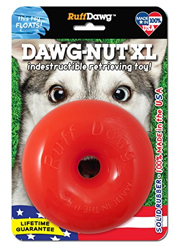 (Ruff Dawg DAWGNUTXL Extra Large Dawgnut Dog Toy)